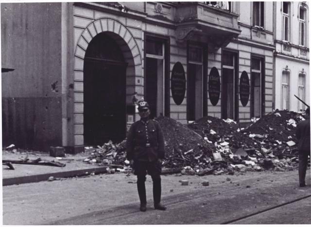 1939-1945: Bombenschäden Düsseldorf