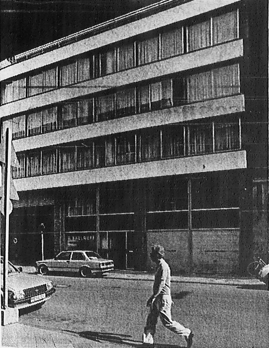 1972: Kreuzstraße Düsseldorf