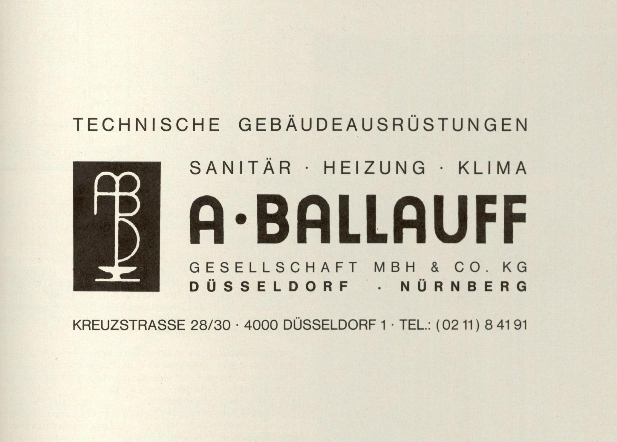 80er Jahre: Logo